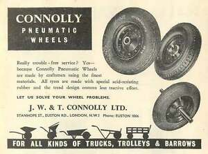 1953-Jw-T-Connolly-Stanhope-Street-London-Pneumatic-Wheels-Ad