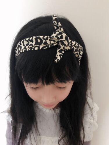 Baby Girl Kid Arrow Retro boho Vintage look bowknot Party Hair head band Bandana