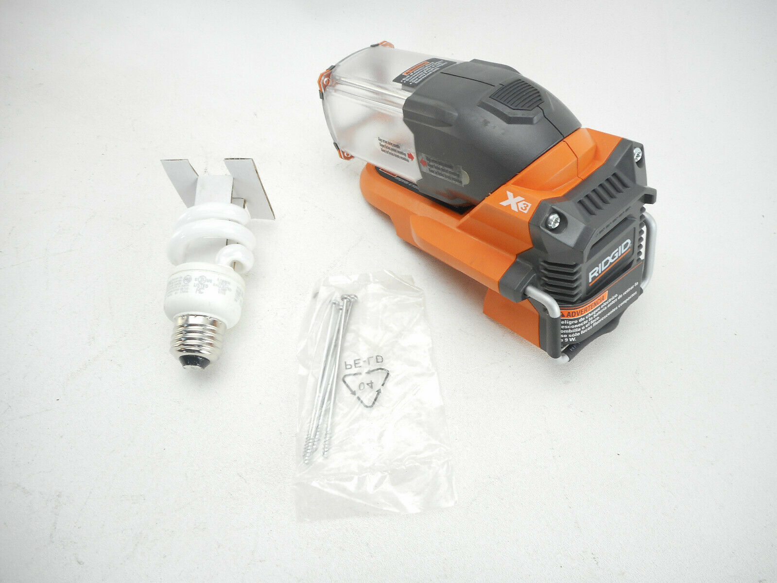 Nuevo Genuino Original Equipment Manufacturer Ridgid 987033001 Linterna-R869 Pieza De Repuesto