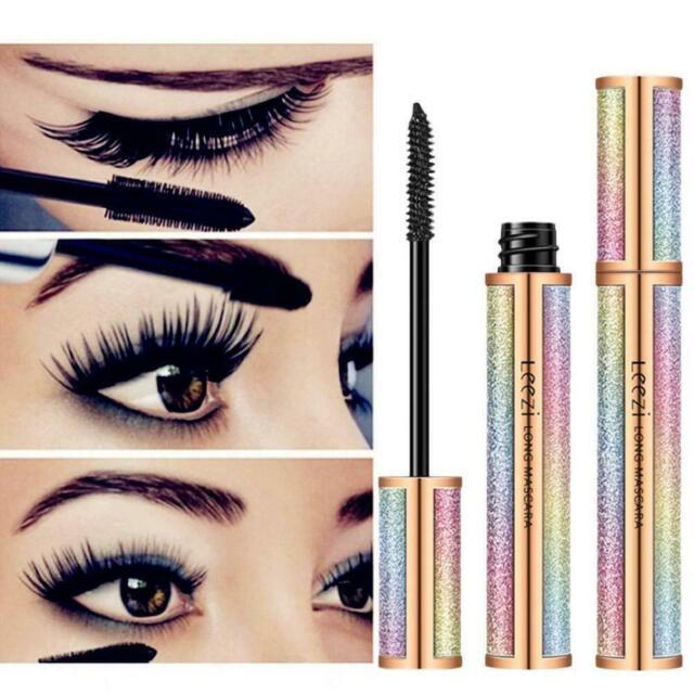 4D Eyelash Mascara Extension Makeup Black Waterproof Women Eye Lashes Kit L6Z7