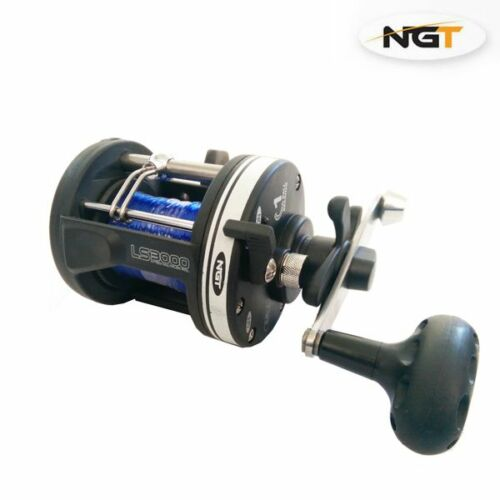 BRAND NEW 25LB 6FT 2 PIECE BOAT ROD AND LS3000 MULTIPLIER REEL SEA FISHING SET