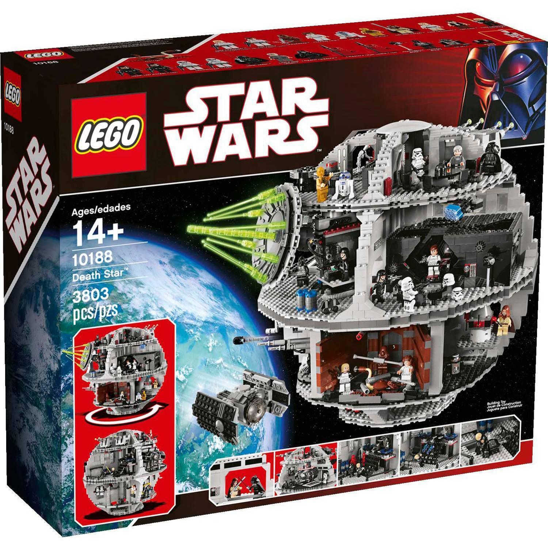 LEGO stjärnornas krig 10188 Dödsstjärna pensionerad Fabrik förseglad