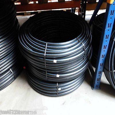 PE Rohr HD - PN12,5 DVGW für TRINKWASSER Wasserleitung versch. Größen u. Längen