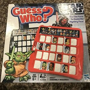 Guess Who? Star Wars Edition Game, Milton Bradley, 2008