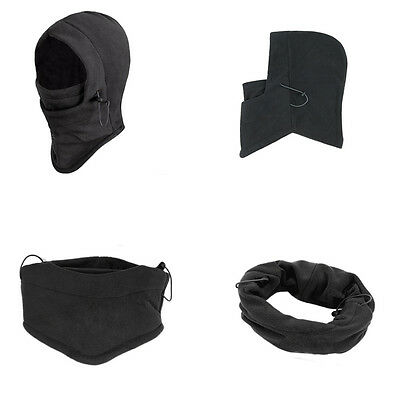 new Polar Fleece Thermal Balaclava Hood Swat Ski Winter Windproof Hat Mask et