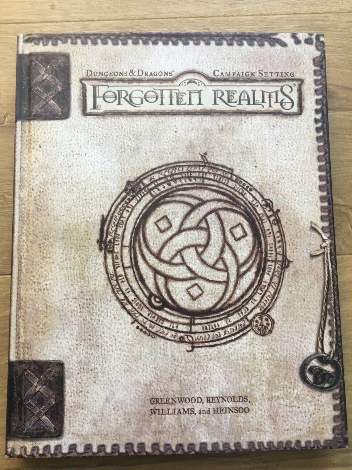 Forgotten Realms campaña ajuste de tapa dura Libro 3 3.5 Ed-Wizards Of The Coast