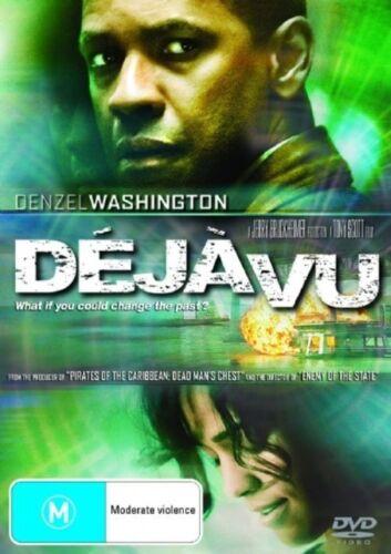 1 of 1 - Deja Vu (2006) Denzel Washington - NEW DVD - Region 4