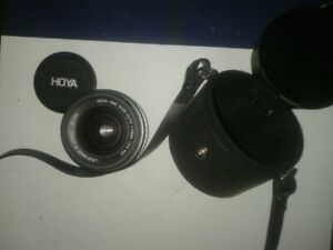HOYA-341594-HMC-WIDE-AUTO-f28-52-LENS-SCREW-FIT-WITH-SKYLIGHT-FILTER-amp-CASE