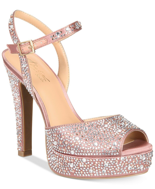 Thalia Sodi Women's Bridget Platform Dress Sandals Size 6 Mauve Retail