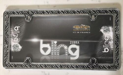 Zebra Print Diamond Bling Frame