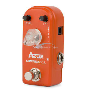 AZOR-AP-305-Compressor-Pedal-Mini-Guitar-Effect-Pedal-Guitar-with-Ture-Bypass