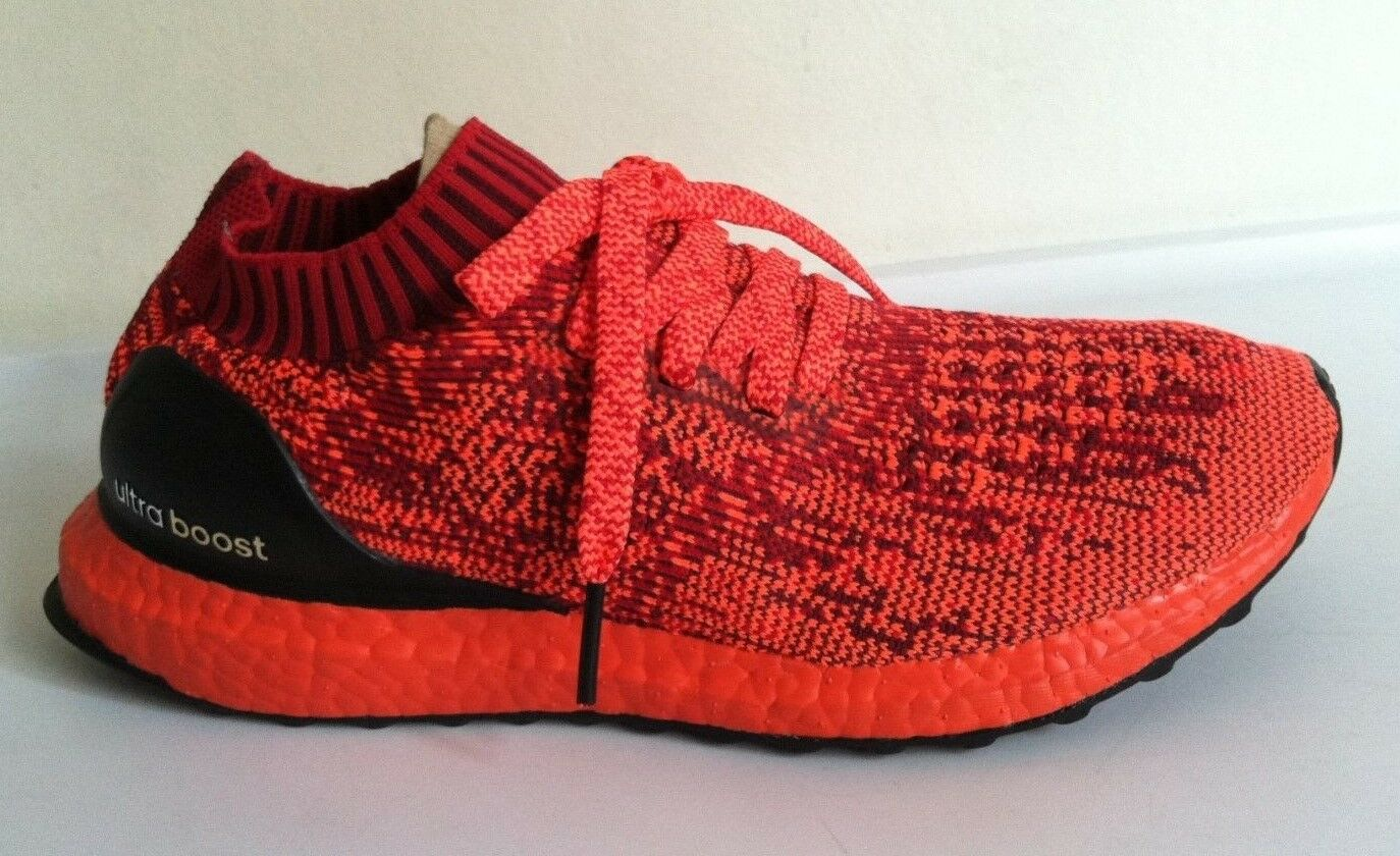 NWOBX para hombre Adidas Ultra Boost Uncaged Limited Triple Rojo Tamaño 7 BB4678 NMD PK Yeezy