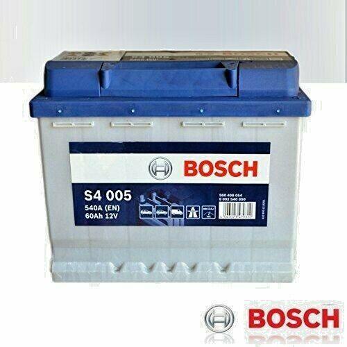 Batteria Avviamento Per Auto BOSCH 12V 60Ah 540A (EN) S4005 (L 242X H190 X P175)