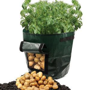 Vegetable Planting Bags Grow Bag Potato Cultivation Garden Pot Planters PE Ba js - Hessen, Deutschland - Vegetable Planting Bags Grow Bag Potato Cultivation Garden Pot Planters PE Ba js - Hessen, Deutschland