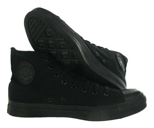 bd421a34ff2d Converse Chuck Taylor All Star Hi M3310 Black Monochrome Men 7 Women ...