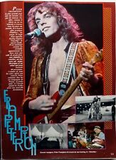 PETER FRAMPTON => 1  page 1977 FRENCH CLIPPING // Coupure de presse