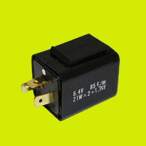 Blinkrelais 6 V Volt 21 Watt 2 x 21W 3-polig elektronisch Relais Blinkgeber NEU