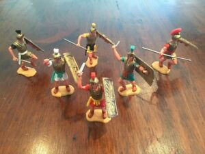 Timpo Romans Foot - Complete Set - Ancient Rome - Toy Soldiers - 1960's