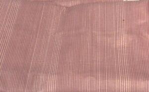 Waverly Vintage Glosheen Polished Cotton Fabric Pink Pinstripe Harmony 3.75 yds