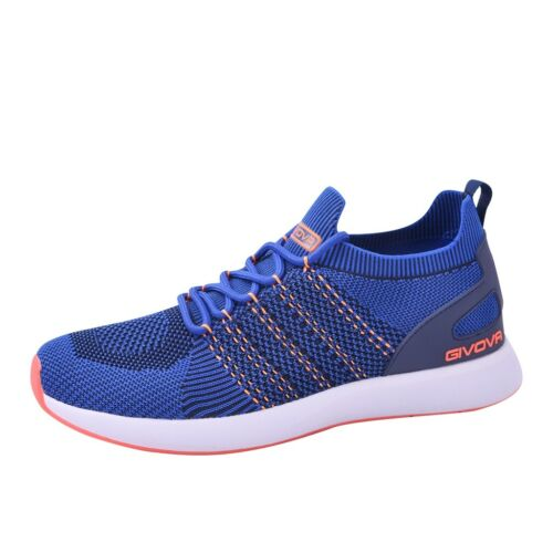 GIVOVA PLANET SF02 sneakers slip-on scarpe da ginnastica running athletics blu