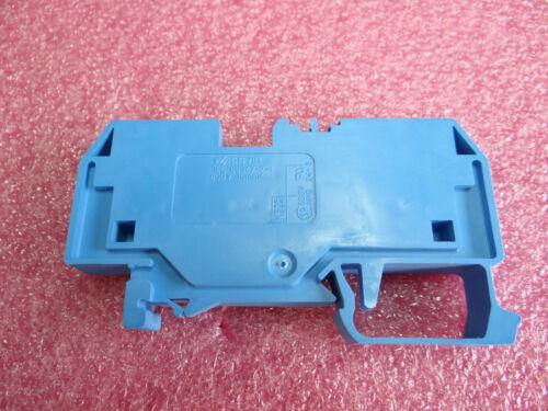 WAGO  284-904 Durchgangsklemme blau 10qmm