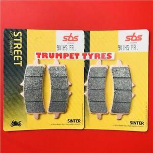 Triumph-1200-Thruxton-R-16-gt-ON-SBS-Front-Race-Sinter-Brake-Pad-Set-901HS