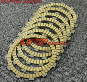 7X FOR YAMAHA XVS650 V-Star 04-15 WR250Z YZ250 XSR700 clutch plates Disc Set