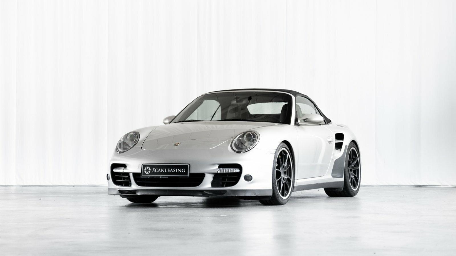 Porsche 911 Turbo 3,6 Cabriolet 2d - 3.996 kr.