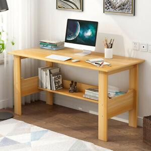Large Home Solid Wood Small Desk Bedroom Study Table Office Desk Workstation Ebay