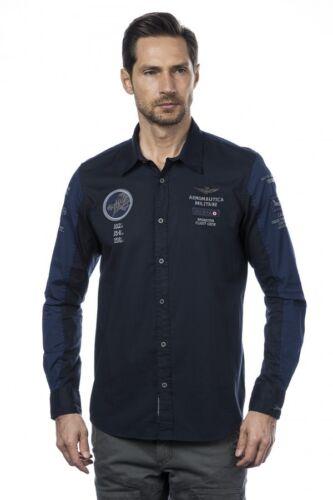 Dell'aeronautica Colore 2018 Originale Uomo Blu Militare Da Camicia New wzZq0aYE