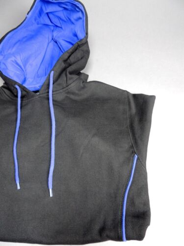 Pennant Blackout Hoodie Black W// Royal Trim Senior Retails at $39.99
