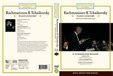 <IMPERIAL 1> Rachmnainov/ Tchaikovsky: piano concert (DVD,All,New,Keep Case)