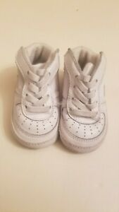 Nike Air Force 1 Sz 2C White Soft