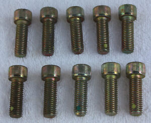 """2 ea 8-32 x 1//2/"""" Cone Point Set Screws Cadmium"""