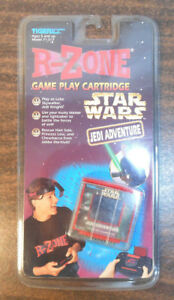 RARE-VINTAGE-1997-R-ZONE-STAR-WARS-JEDI-ADVENTURE-GAME-PLAY-CARTRIDGE-TIGER-NEW