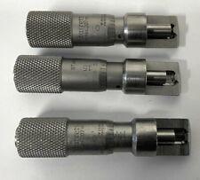Starrett 207 Stainless Steel Can Seam Micrometer 0 375 Range 001