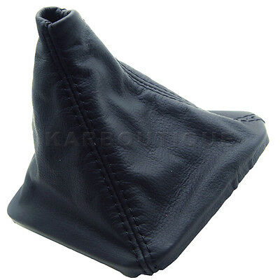 Shift Boot Leather For BMW 92-99 E36 325 328 318 323 Manual Black