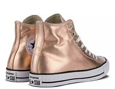 6dc3f4ca2711 CONVERSE CHUCK TAYLOR ALL STAR HI TOP ROSE GOLD Sz 10 Women s NEW! Very Nice