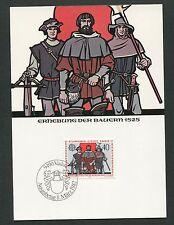 LIECHTENSTEIN MK 1982 EUROPA CEPT MAXIMUMKARTE CARTE MAXIMUM CARD MC CM d5427