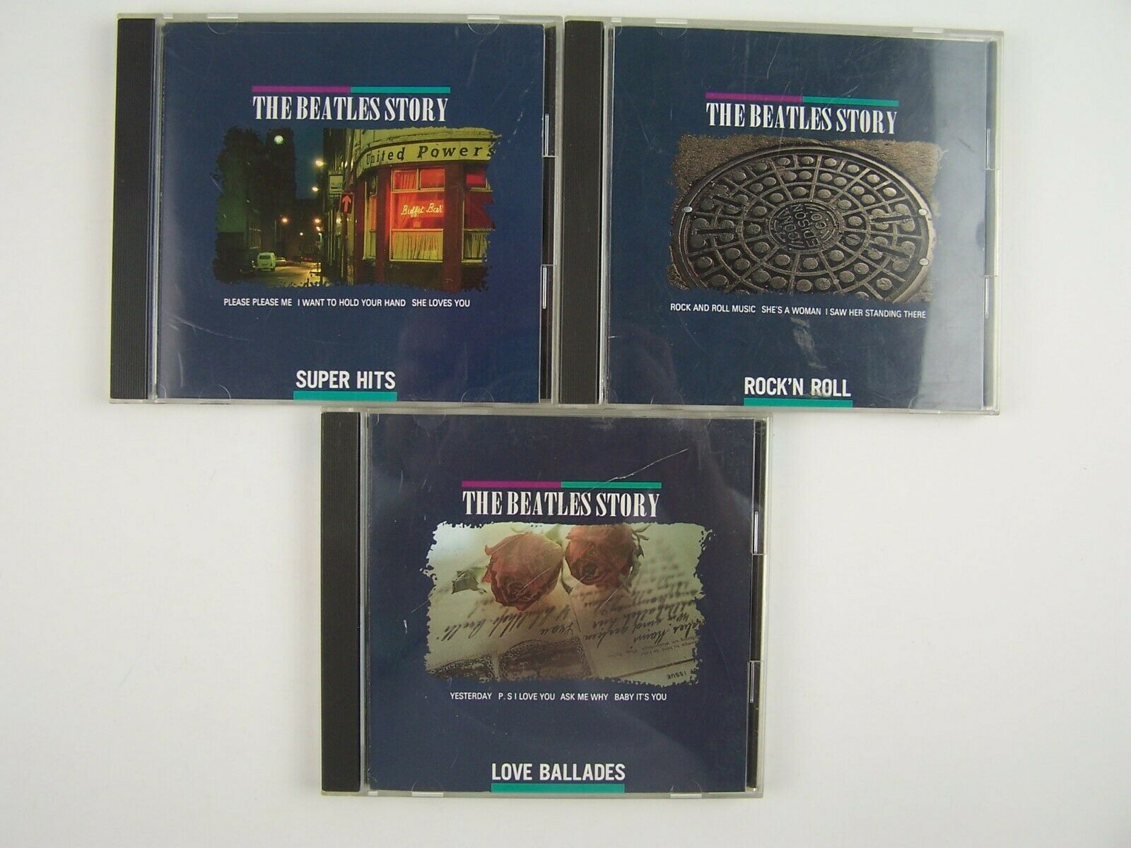 The Beatles Story 3xCD Lot #5