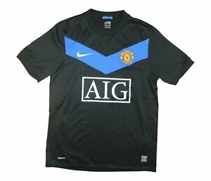 Manchester-United-2009-10-Authentic-Away-Shirt-OTTIMO-S-Soccer-Jersey