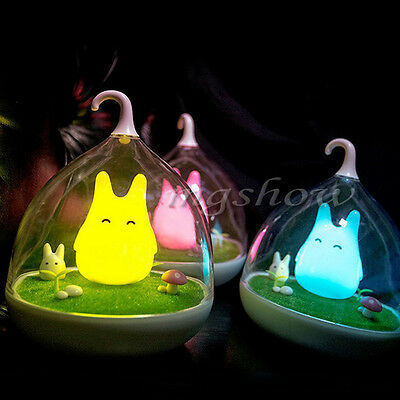 New Totoro Portable Touch Sensor USB LED Baby Night Light Bedside Lamp Wall lamp