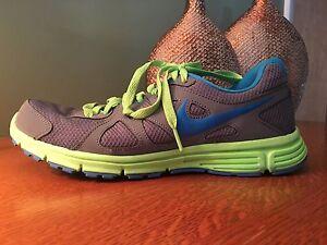 032ad8979d65 Men s Nike Revolution 2 (Cool Grey Flash Lime Blue) Size 7.5