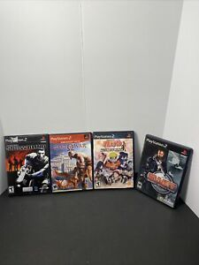 Sony PlayStation 2 Game Lot Of (4) All In Cases !