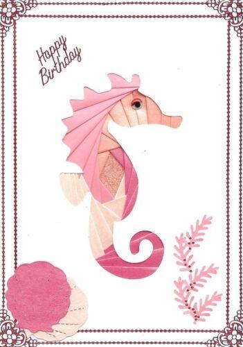 DeeCraft Iris Folding Card Pack Seahorse