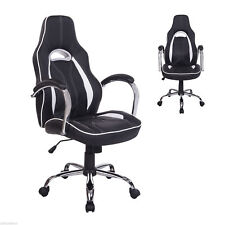 High Back Executive Racing Gaming Office Chair Swivel Computer Desk Seat