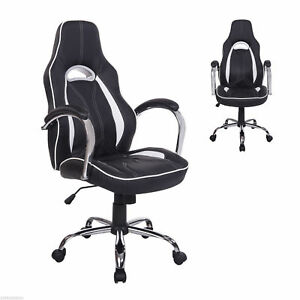 High-Back-Executive-Racing-Gaming-Office-Chair-Swivel-Computer-Desk-Seat