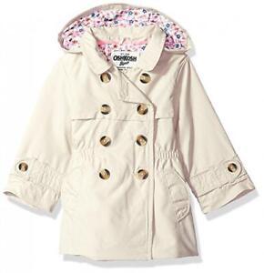 b397fbe6e Osh Kosh B gosh Girls Khaki Lightweight Trench Coat Size 2T 3T 4T 4 ...