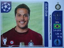 Panini 74 Julio Cesar FC Internazionale UEFA CL 2011/12