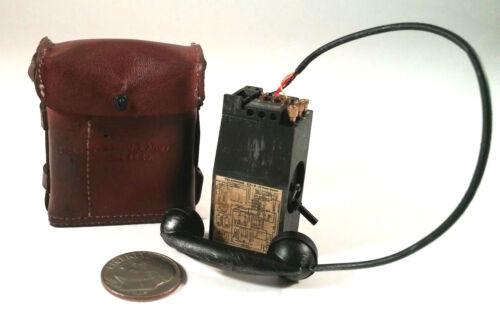 DID deuxième guerre mondiale nous Bryan police militaire Téléphone N Pochette 1//6 Radio Toys GI Pistolets mitrailleurs Sac